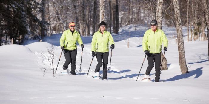 Schneeschuhtour um das Tiefenberger Moor