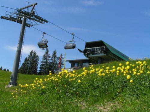 Weltcup-Express Bergstation – Bergbahn Ofterschwang