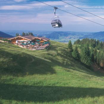 Kostenloses Bergbahnticket