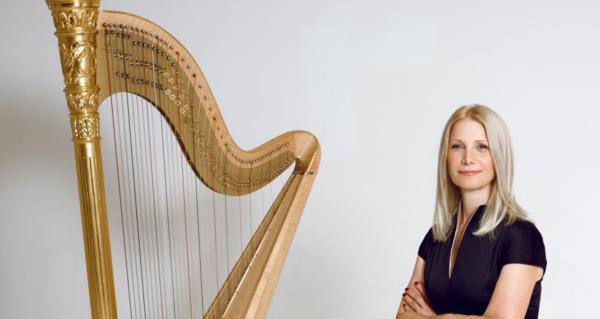Evelyn Huber / Klangwelten der Harfe