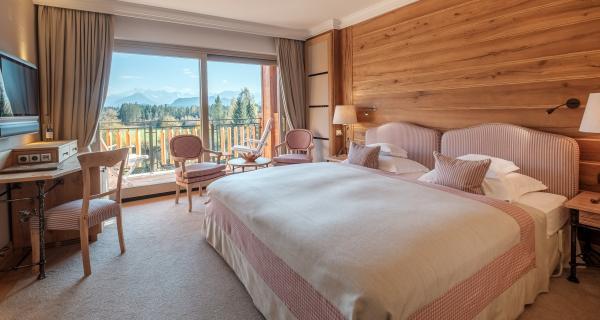 Comfort-Zimmer Doppelbett
